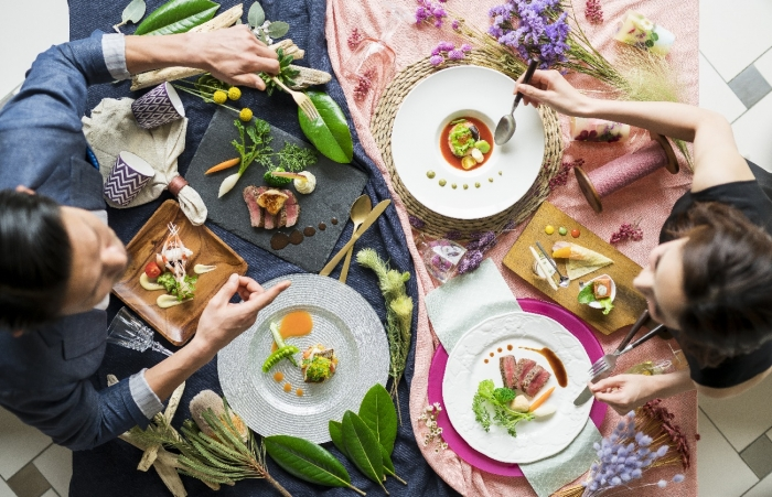 【国産牛フィレ肉&真鯛】豪華14品フルコース食べ比べフェア
