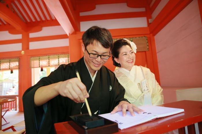 古き良き日本の婚儀